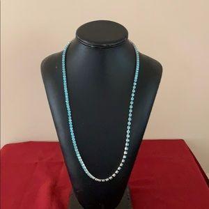 Aqua blue women's chain